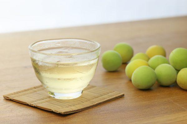 梅のジュースと梅
